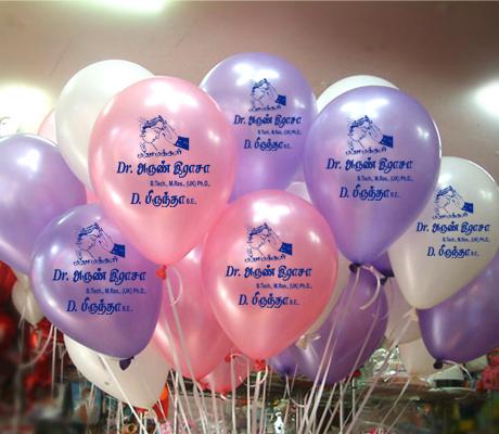 Advertising Balloons in Madurai